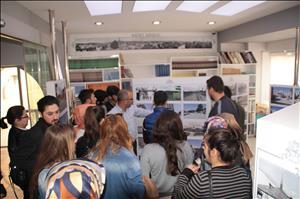 HİTÜ Fen Edebiyat Fakültesi Türk Dili ve Edebiyatı Bölümü Öğrencilerinden Kent Arşivi Ziyareti