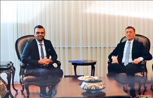 Öğretim Üyemizden Milli Eğitim Bakanı Prof. Dr. Ziya Selçuk'a Ziyaret