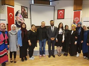 Öğretim Üyemizden Cumhuriyet Üniversitesinde Konferans