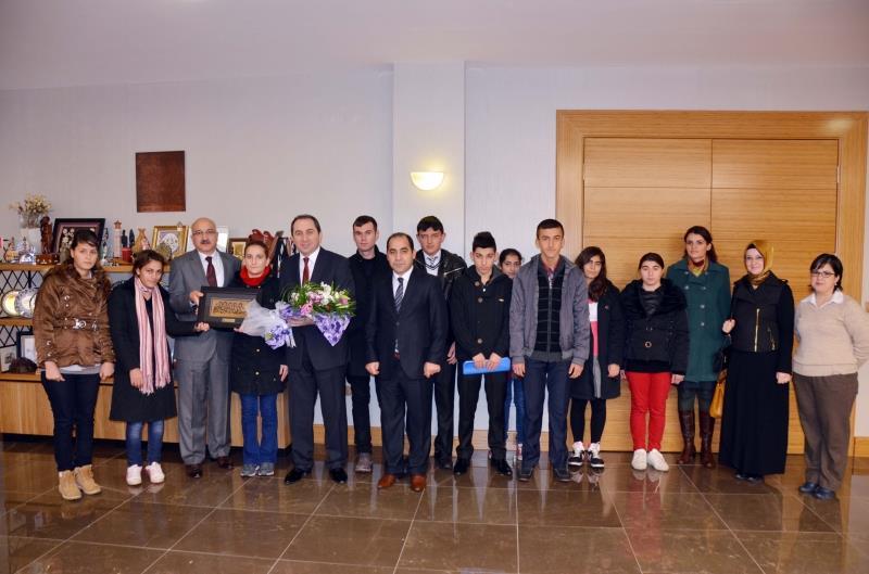 Anadolu Özel Eğitim Merkezinden Rektörümüze Ziyaret