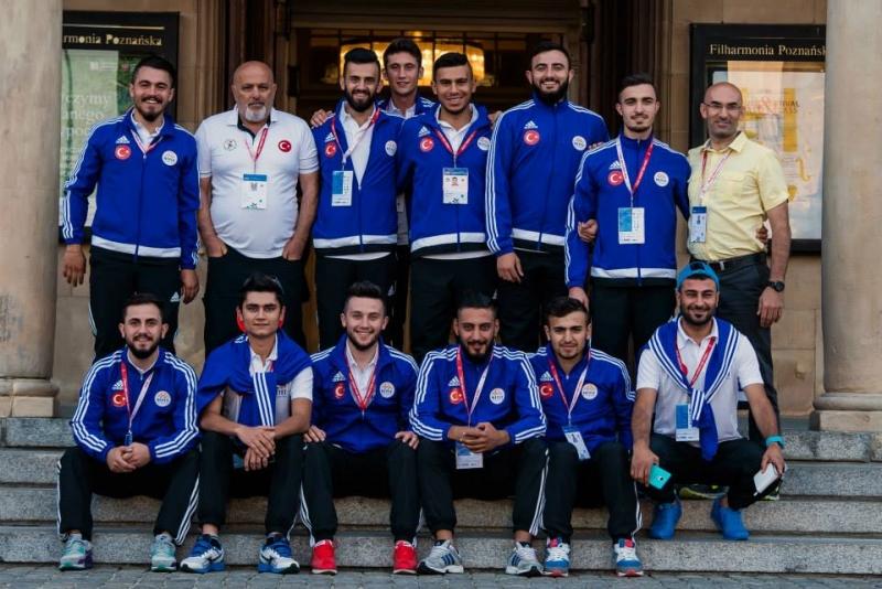 2017 Avrupa Üniversiteler Salon Futbol Şampiyonası (Futsal'2017) Bayrağı Üniversitemizde