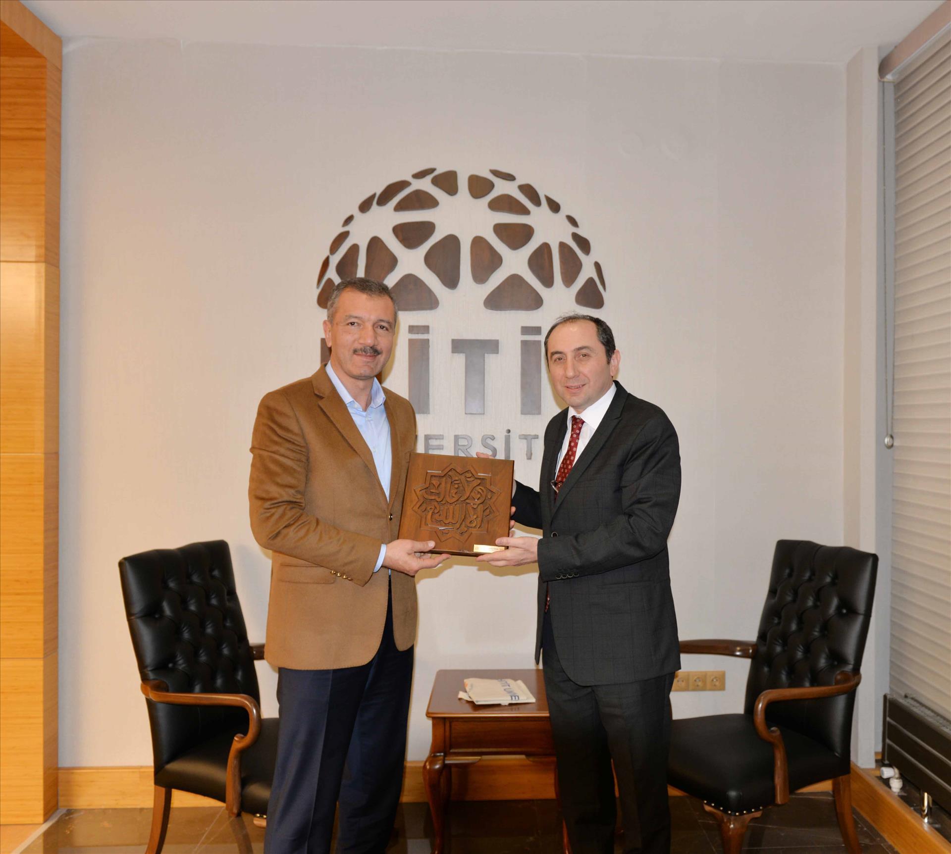 Kırıkkale Milletvekili Rektörümüze Ziyarette Bulundu