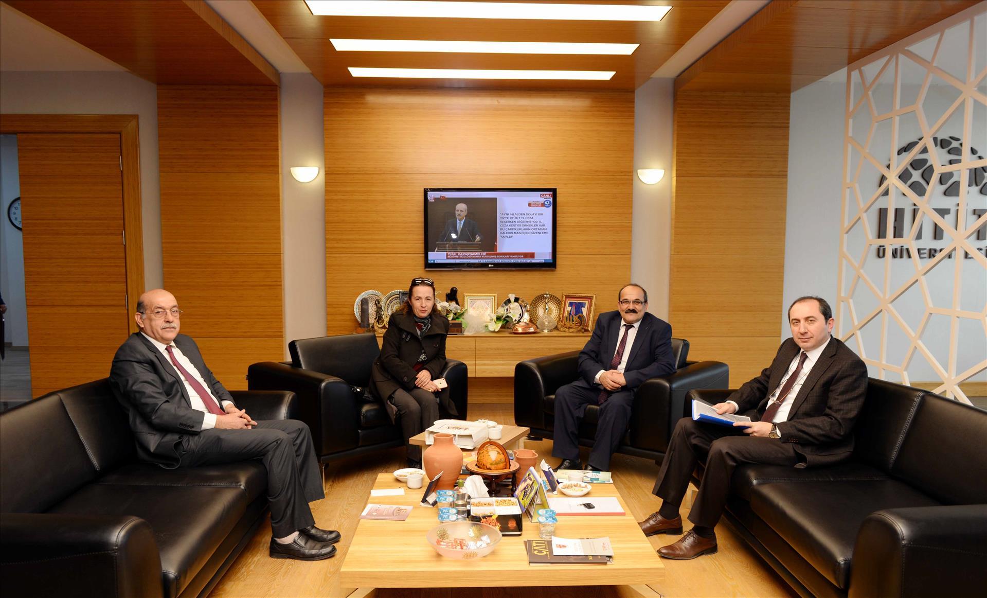 Kargı Belediye Başkanı Şen'den Rektörümüze Ziyaret