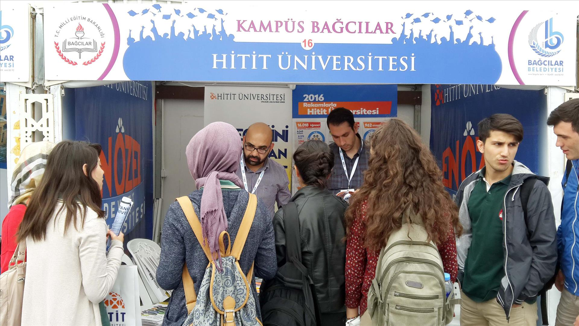 Our University in Education Fair Held in İstanbul