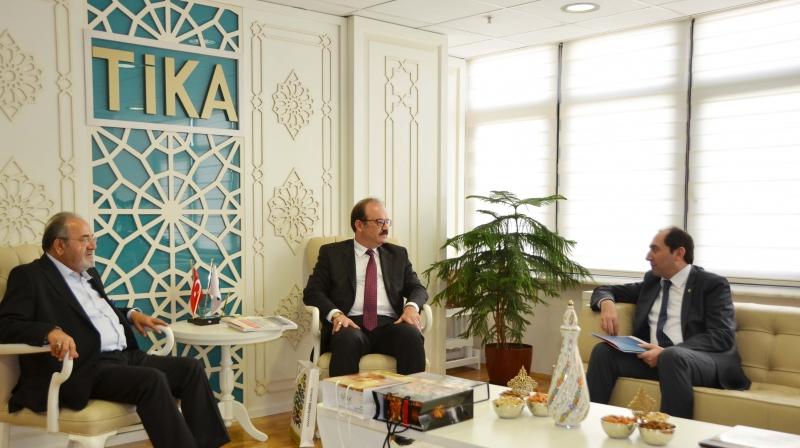 Rektörümüzden TİKA Başkanı Çam'a Ziyaret