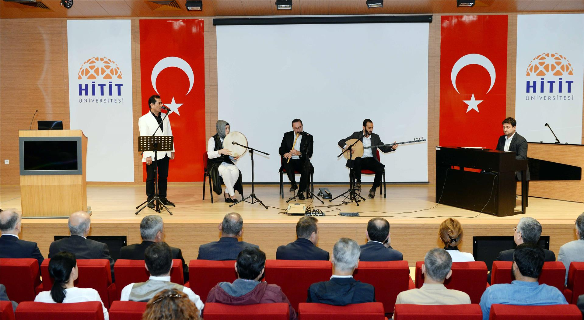 Üniversitemizde Türk Tasavvuf Musikisi Konseri Düzenlendi
