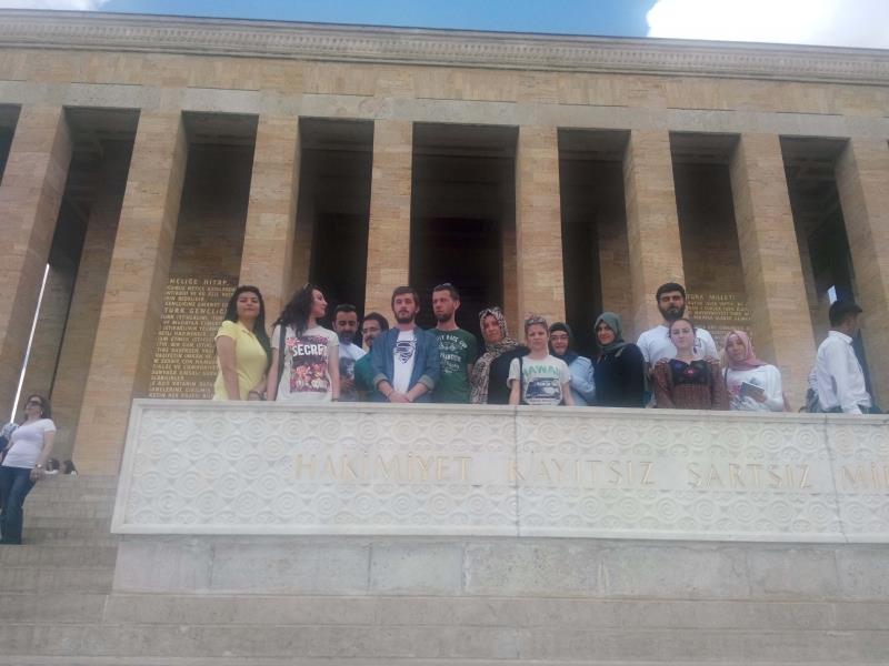"""Arkeoloji Bölümü Öğrencileri """"Müzelerde Önleyici Koruma"""" İsimli Ders Kapsamında Teknik Gezi Düzenledi"""