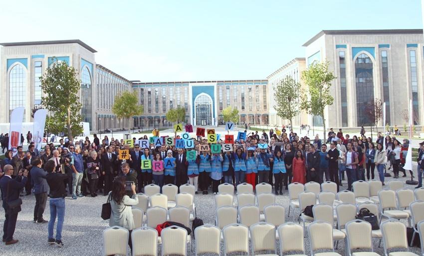 Üniversitemiz, Erasmusdays 2018 Bilgilendirme Günü Etkinliğinde Proje Ortakları ile Bir Araya Geldi