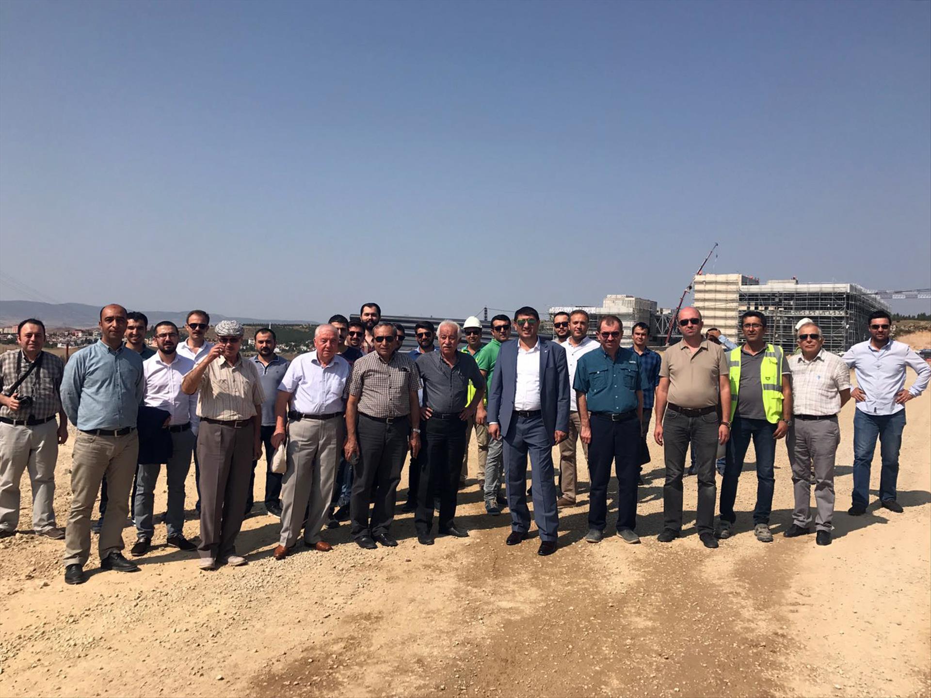 İnşaat Mühendisleri Odası Yönetiminden Kuzey Kampüsümüze Ziyaret