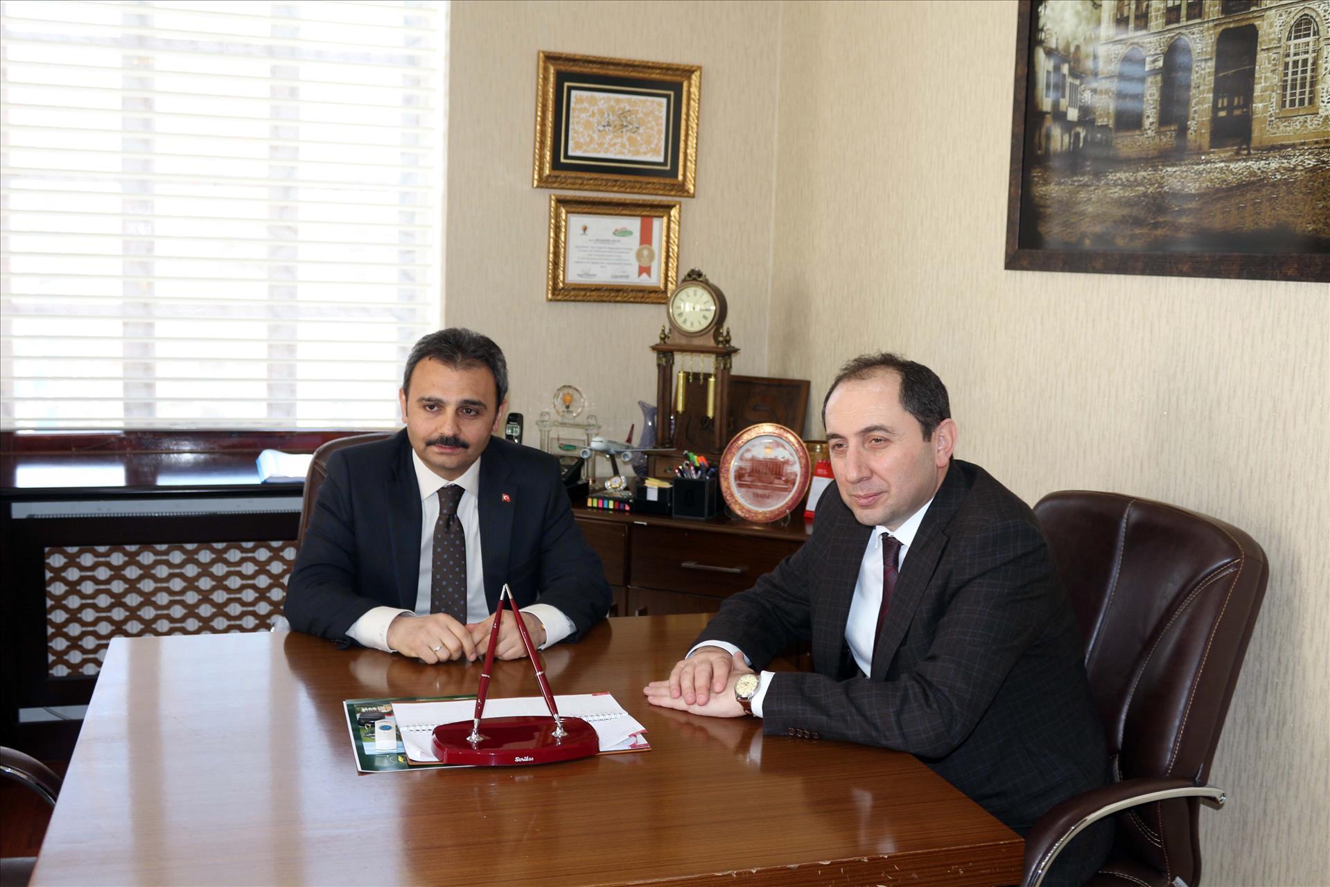 Our Rector Visits Mayor of Çorum
