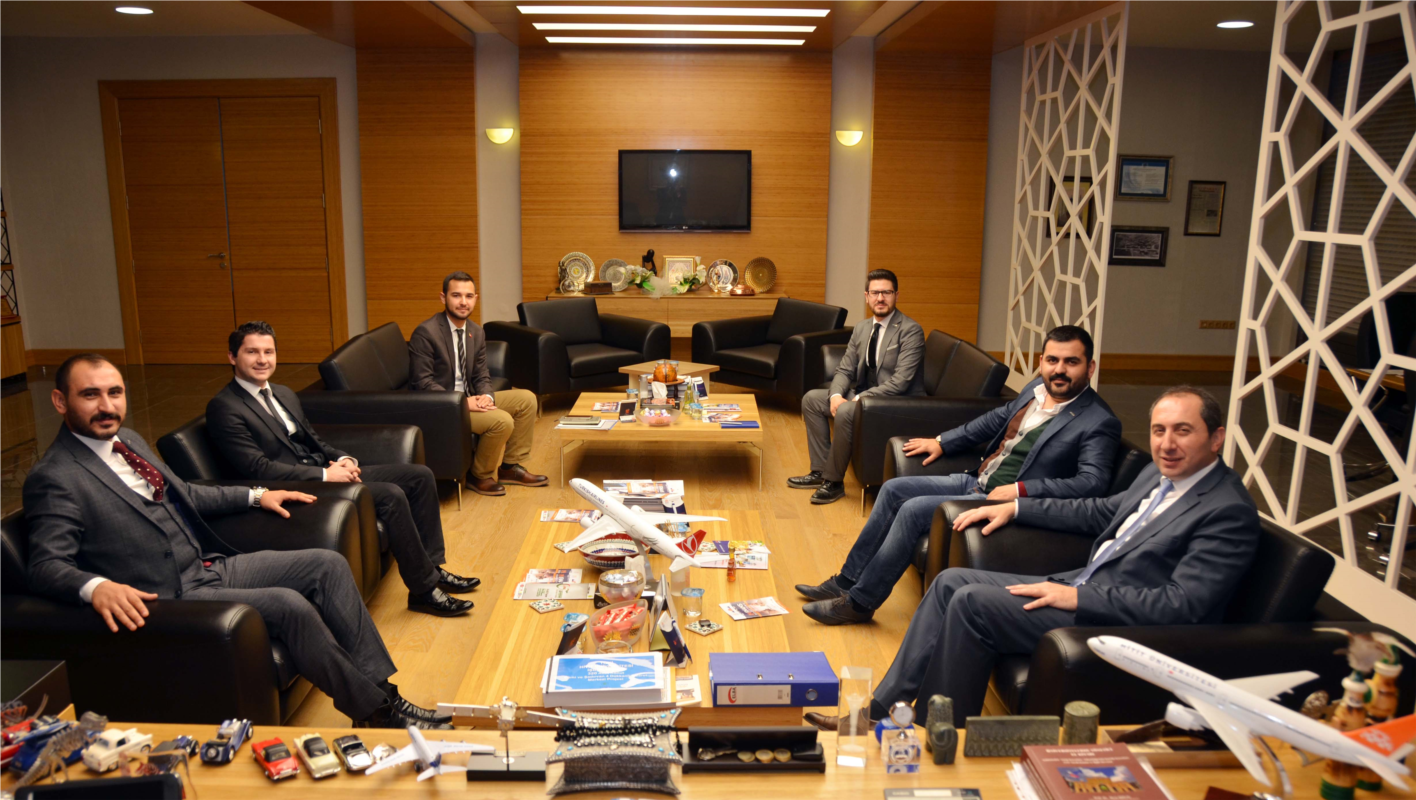 Young MUSIAD Executive Board Visits Our Rector