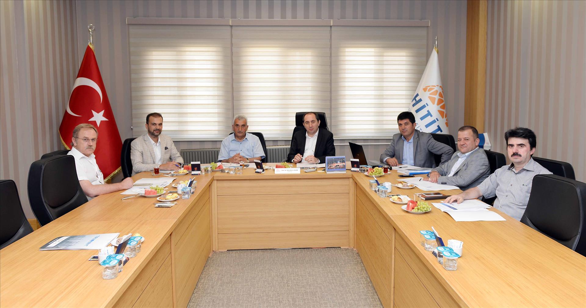 Üniversitemizde Teknokent Olağan Yönetim Kurulu Toplantısı Yapıldı