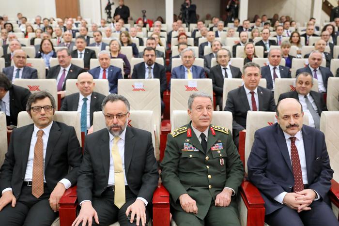 Genelkurmay Başkanı Orgeneral Hulusi Akar YÖK'te Rektörlerle Buluştu