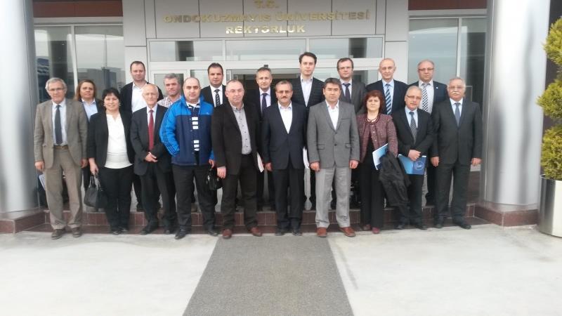 OKÜP Toplantısı Samsun'da Yapıldı