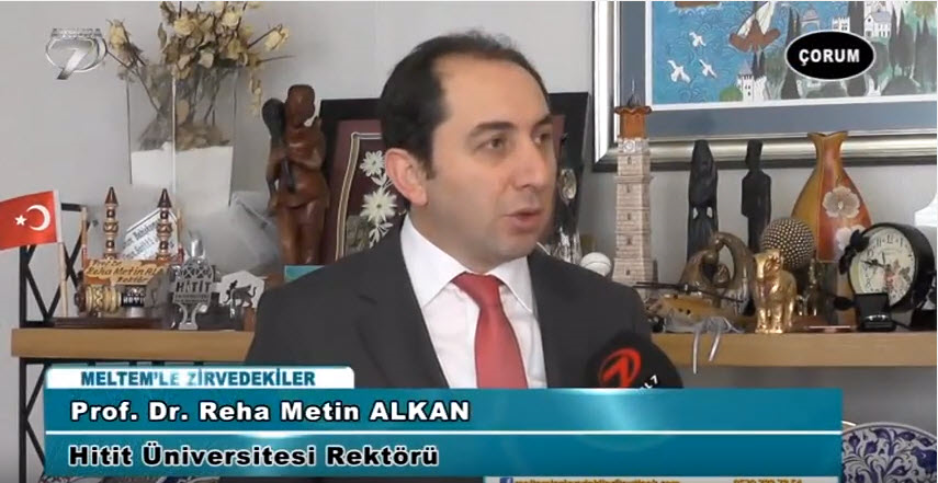 Our Rector Appeared as a Guest on Channel 7 Europe