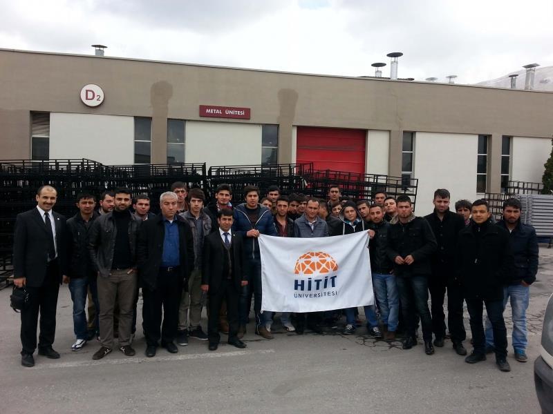 Alaca MYO Öğrencileri Kayseri'ye Teknik Gezi Düzenledi
