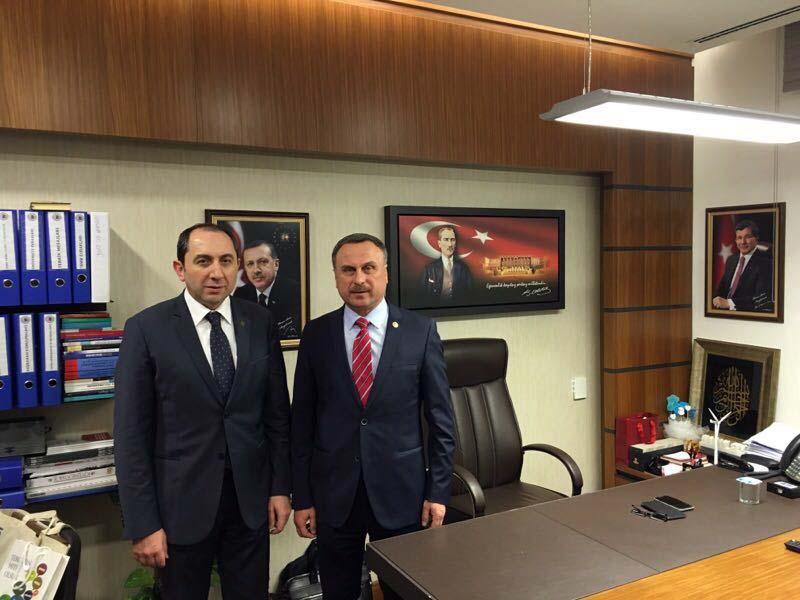 Rektörümüzden İstanbul Milletvekili Dr. Hasan Sert'e Ziyaret