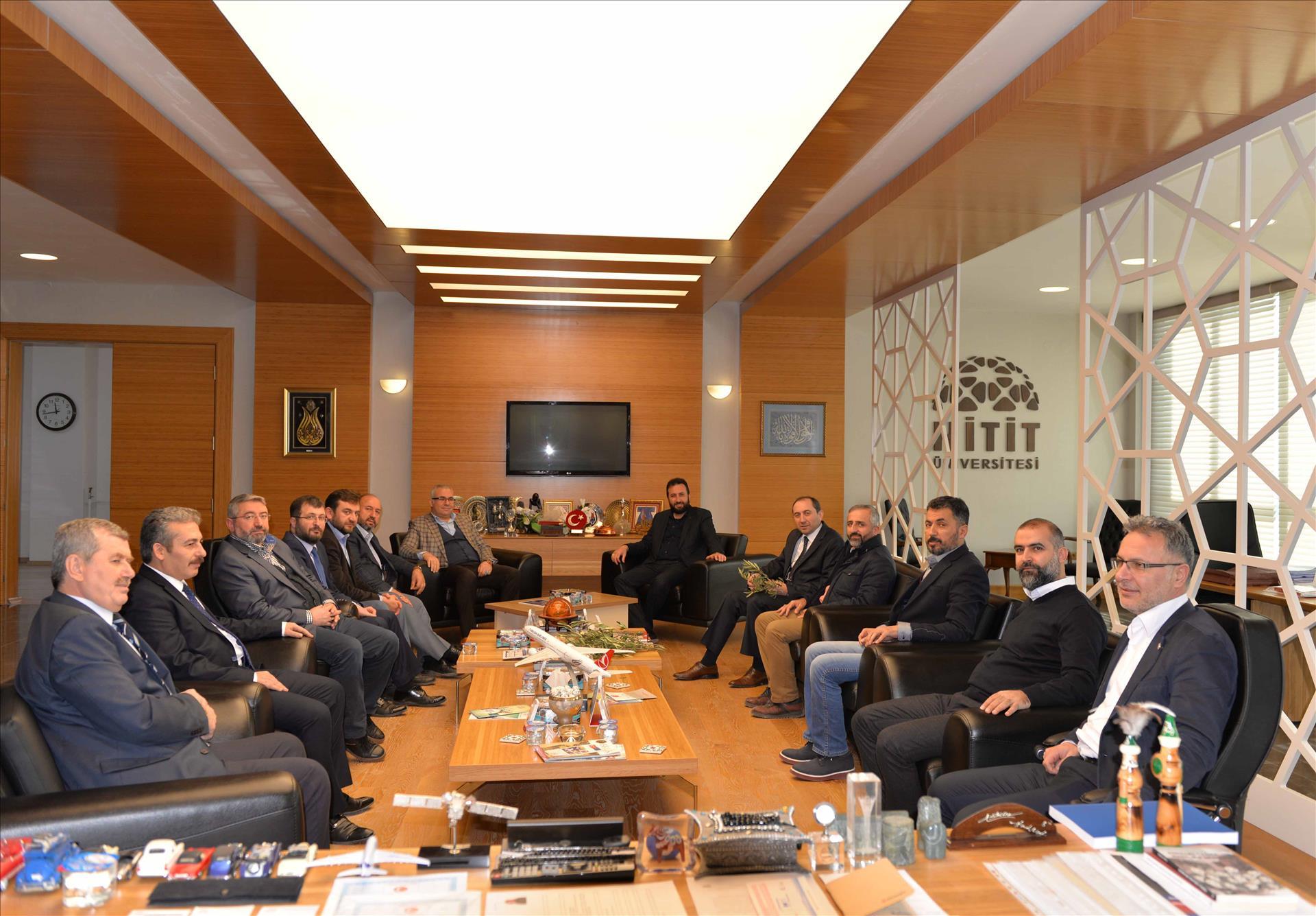 Zeytin Dalı Harekâtı Hakkında İstişare Toplantısı Yapıldı