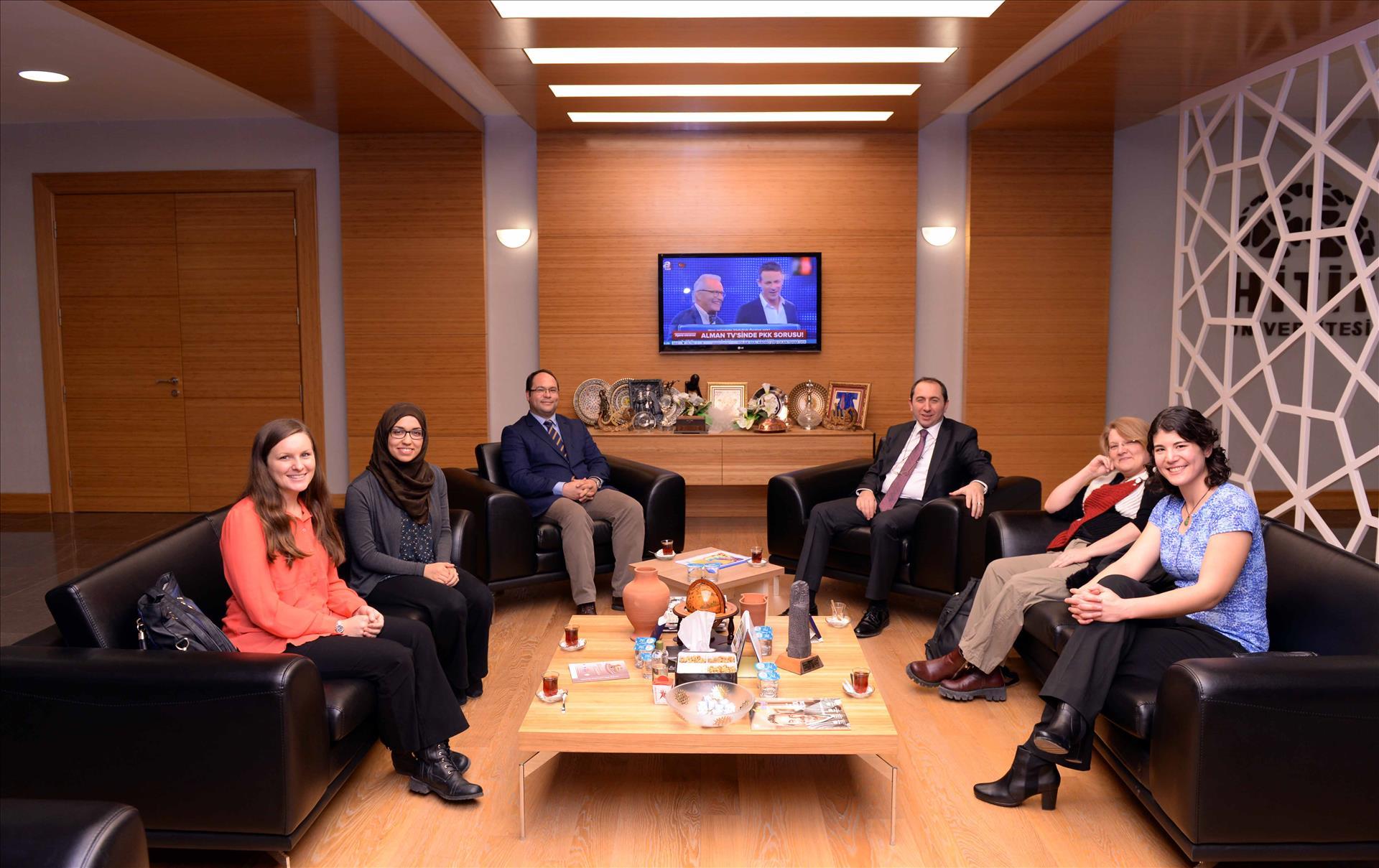 HİTİTSEM'de 3 Yabancı Uyruklu Öğretim Elemanı Daha Göreve Başladı