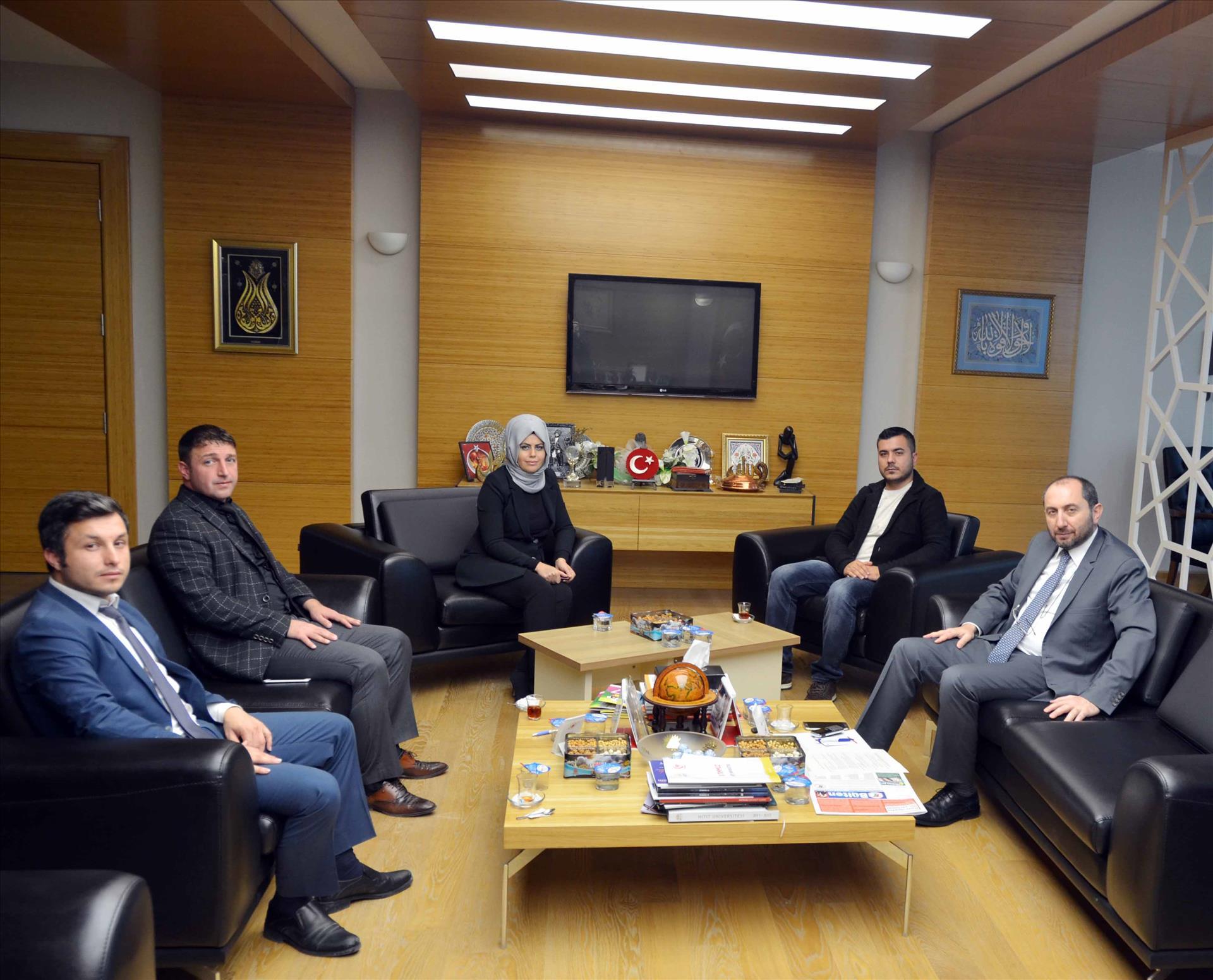 Türkiye Gençlik Vakfı (TÜGVA) Osmancık İlçe Temsilciliği'nden Rektörümüze Ziyaret