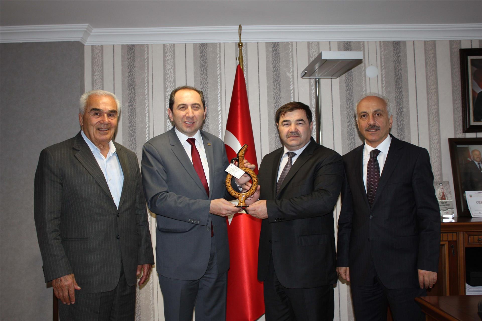Visit to Turkey Wrestling Federation Director Musa Aydın