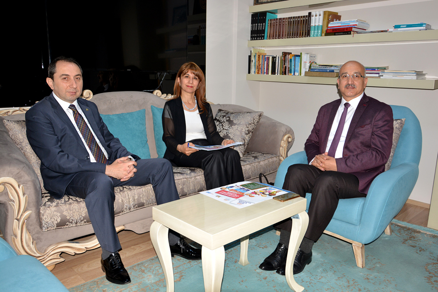 Our Rector Visited Provincial Director of National Education