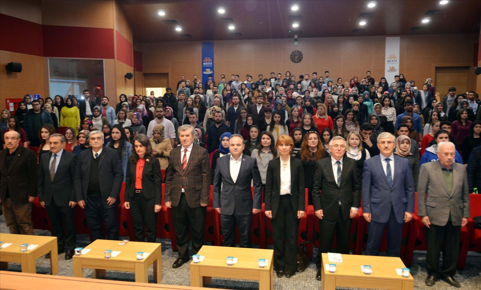 "Üniversitemizde ""Mehmet Akif Ersoy ve İstiklal Marşı"" Konferansı Düzenlendi"