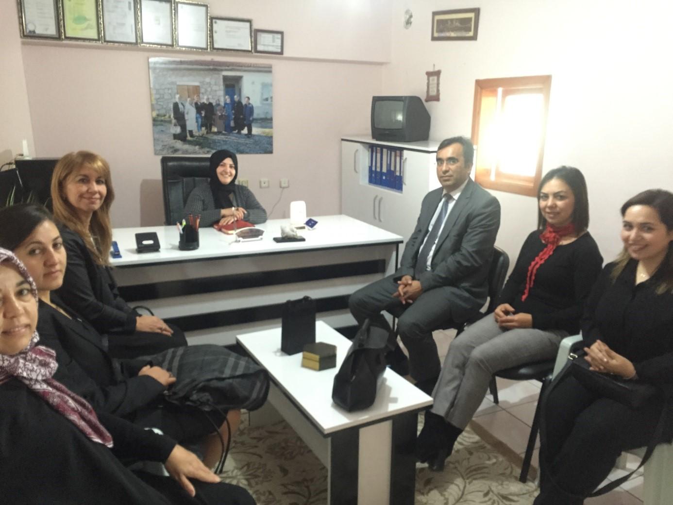 Hükam'dan Sungurlu Kadın Girişimi Üretim ve İşletme Kooperatif'ine Tebrik Ziyareti