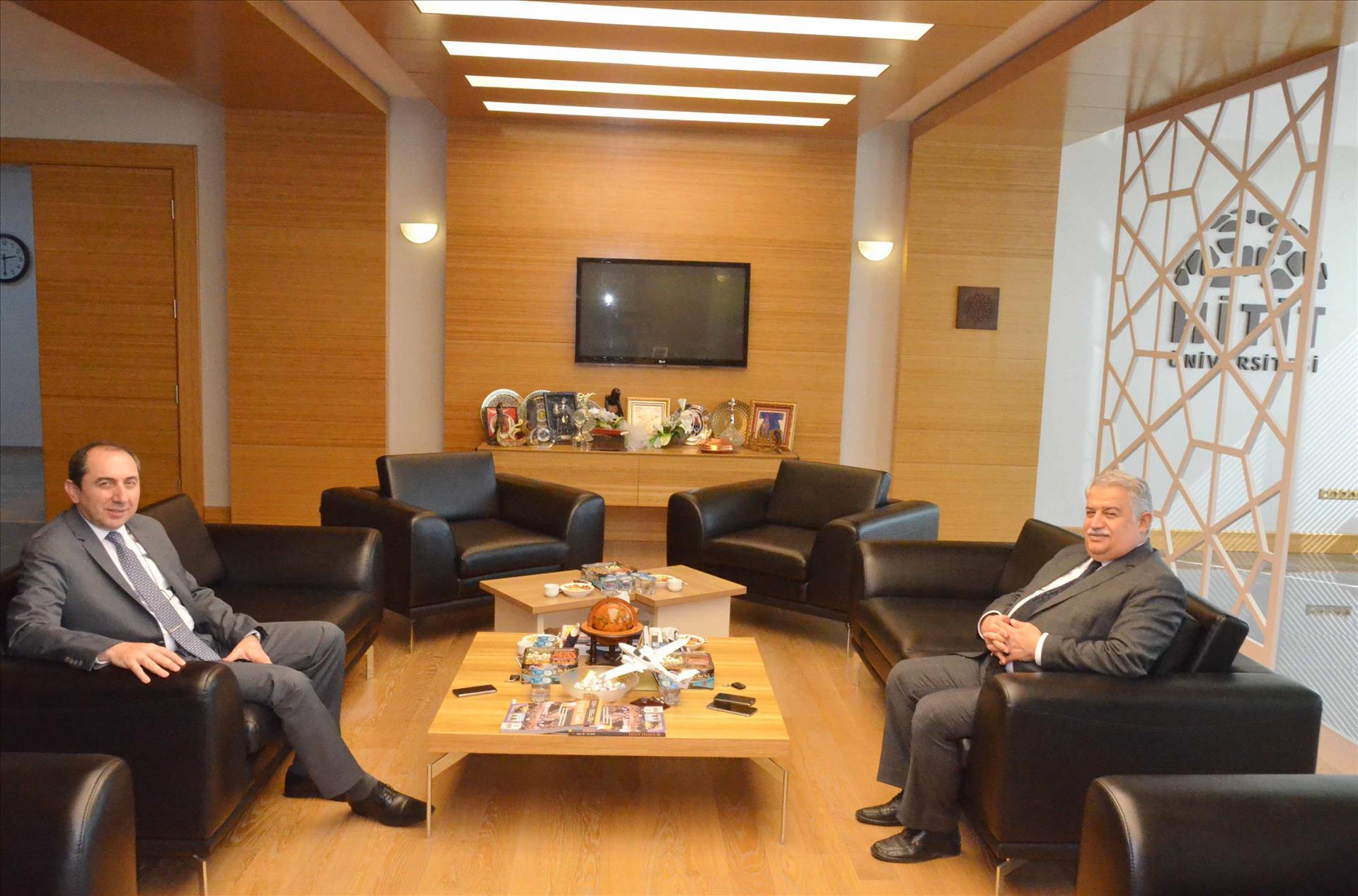 Necmettin Erbakan Üniversitesi Rektöründen Ziyaret
