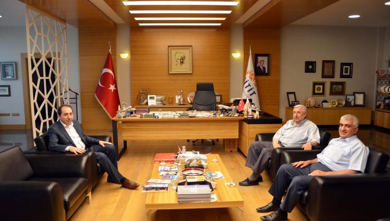Ethem Erkoç'tan Rektörümüze Hayırlı Olsun Ziyareti