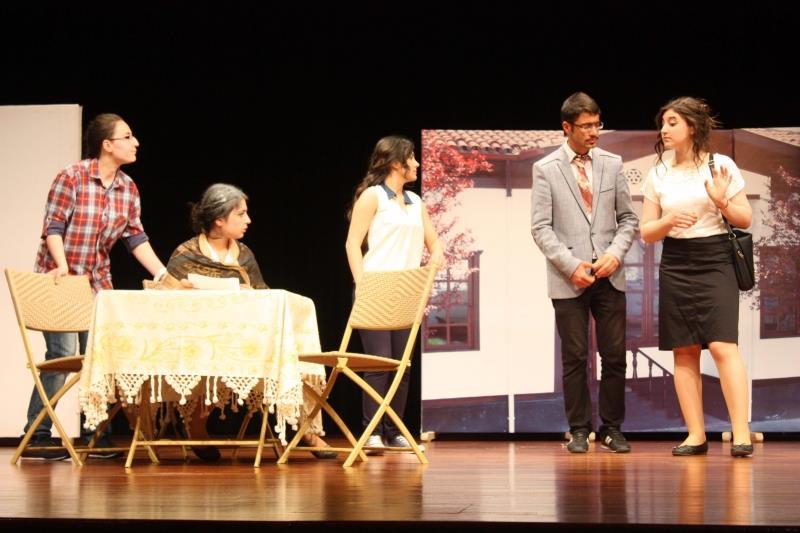 Üniversitemiz Tiyatro Kulübü 5. Uluslararası Prof. Cüneyt Gökçer Tiyatro Festivaline Katıldı
