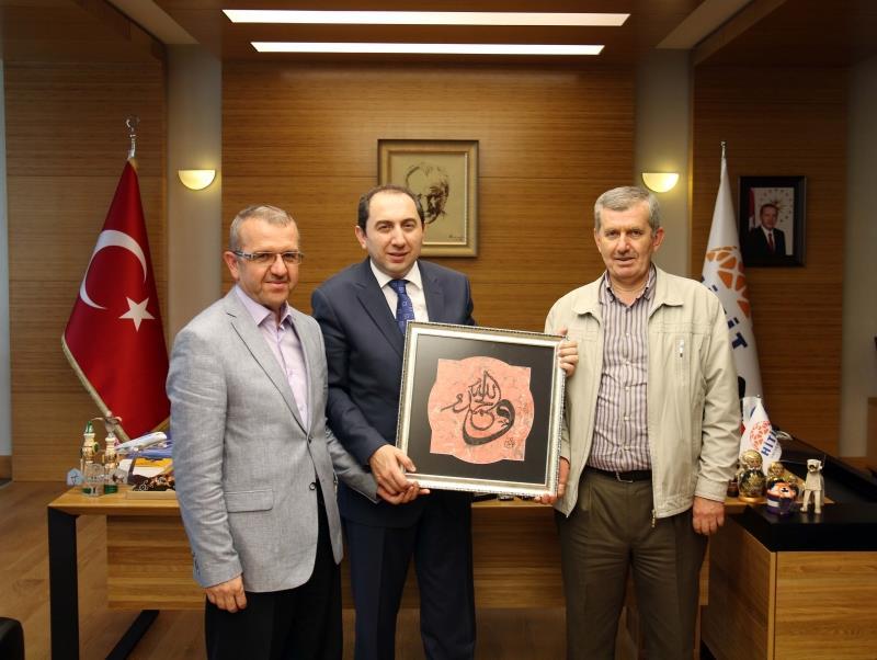 İl Kültür ve Turizm Müdürü Ali Özüdoğru Rektörümüzü Ziyaret Etti