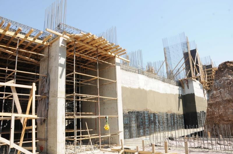Üniversitemiz HÜBTUAM Binasının İnşaatı Hızla Devam Ediyor