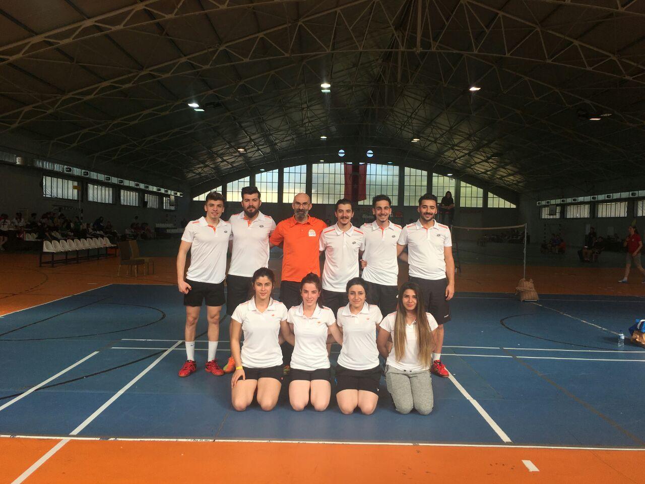 Üniversitemiz Badminton Takımı Süper Lig İçin Mücadele Edecek