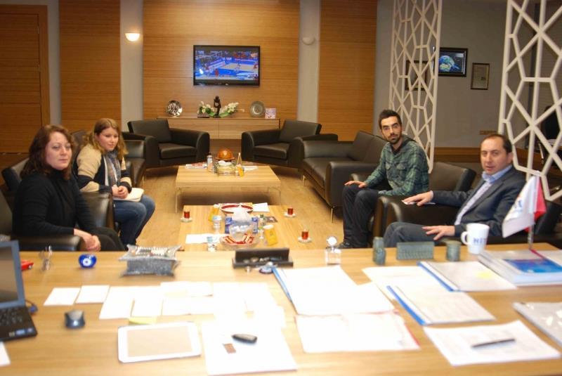 Türkiye Eğitim Gönüllüleri Vakfı Çorum Öğrenim Birimi'nden Rektörümüze Ziyaret
