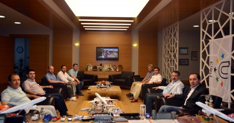 AK Parti İl Teşkilâtından Teşekkür Ziyareti