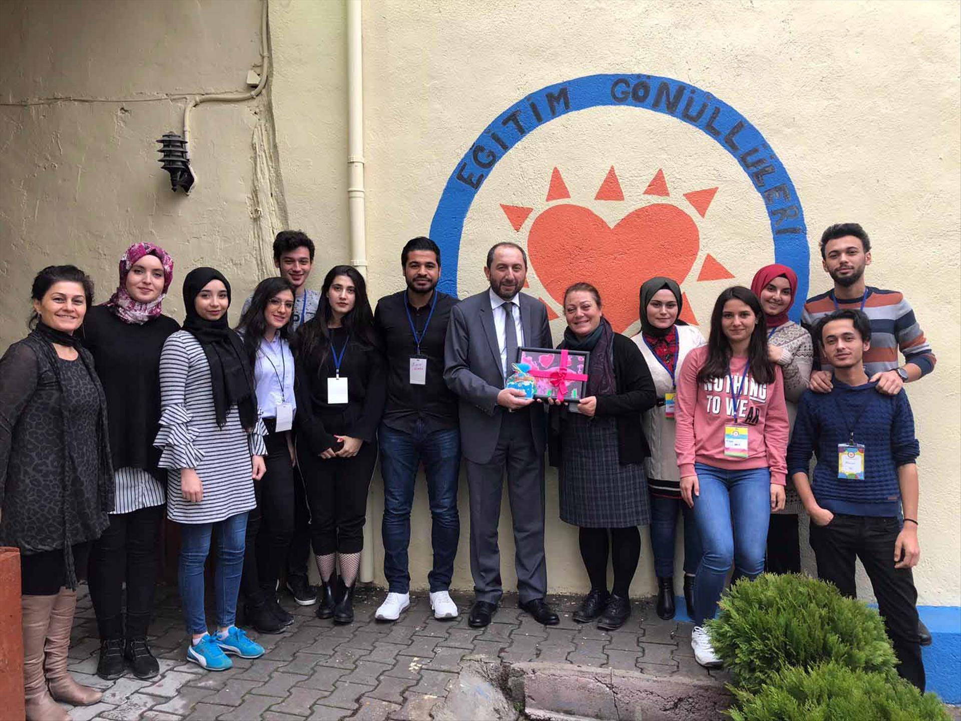 Rektörümüz Türkiye Eğitim Gönüllüleri Vakfı'nı Ziyaret Etti