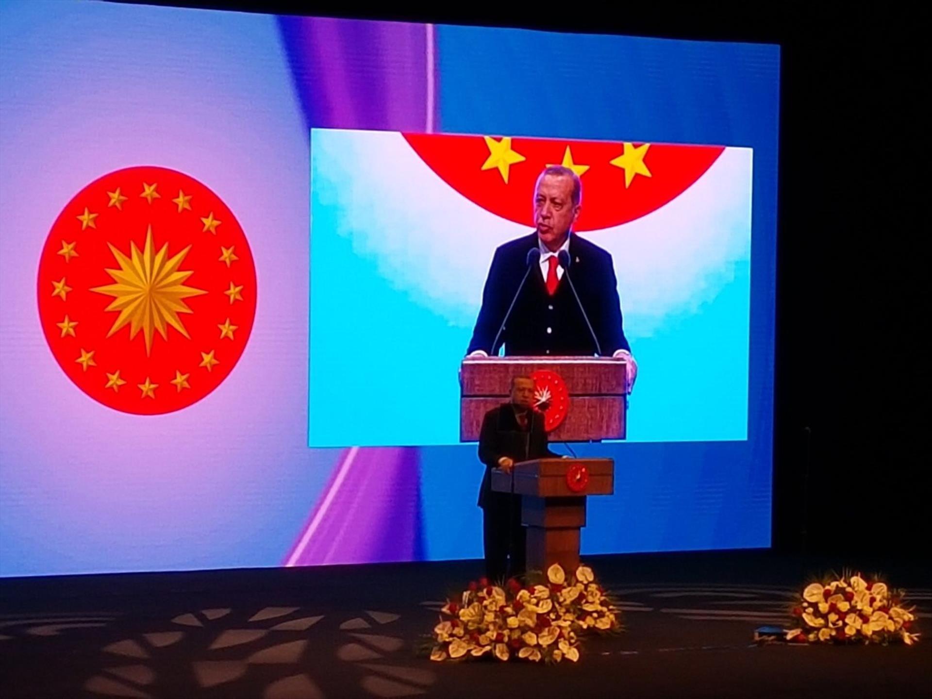 """Cumhurbaşkanlığı Külliyesinde """"3. Turizm Şurası"""" Cumhurbaşkanımız Sayın Recep Tayyip Erdoğan'ın Teşrifleriyle Gerçekleştirildi"""