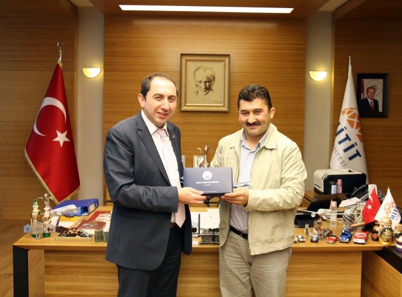 Rektörümüzü Bursa Teknik Üniversitesi Rektörü Ziyaret Etti