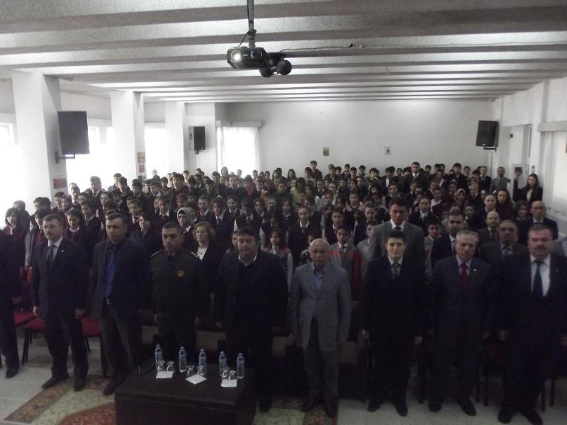 "İskilip MYO'dan ""Mehmet Akif Ersoy ve İstiklal Marşı"" Konulu Etkinliğe Katkı"