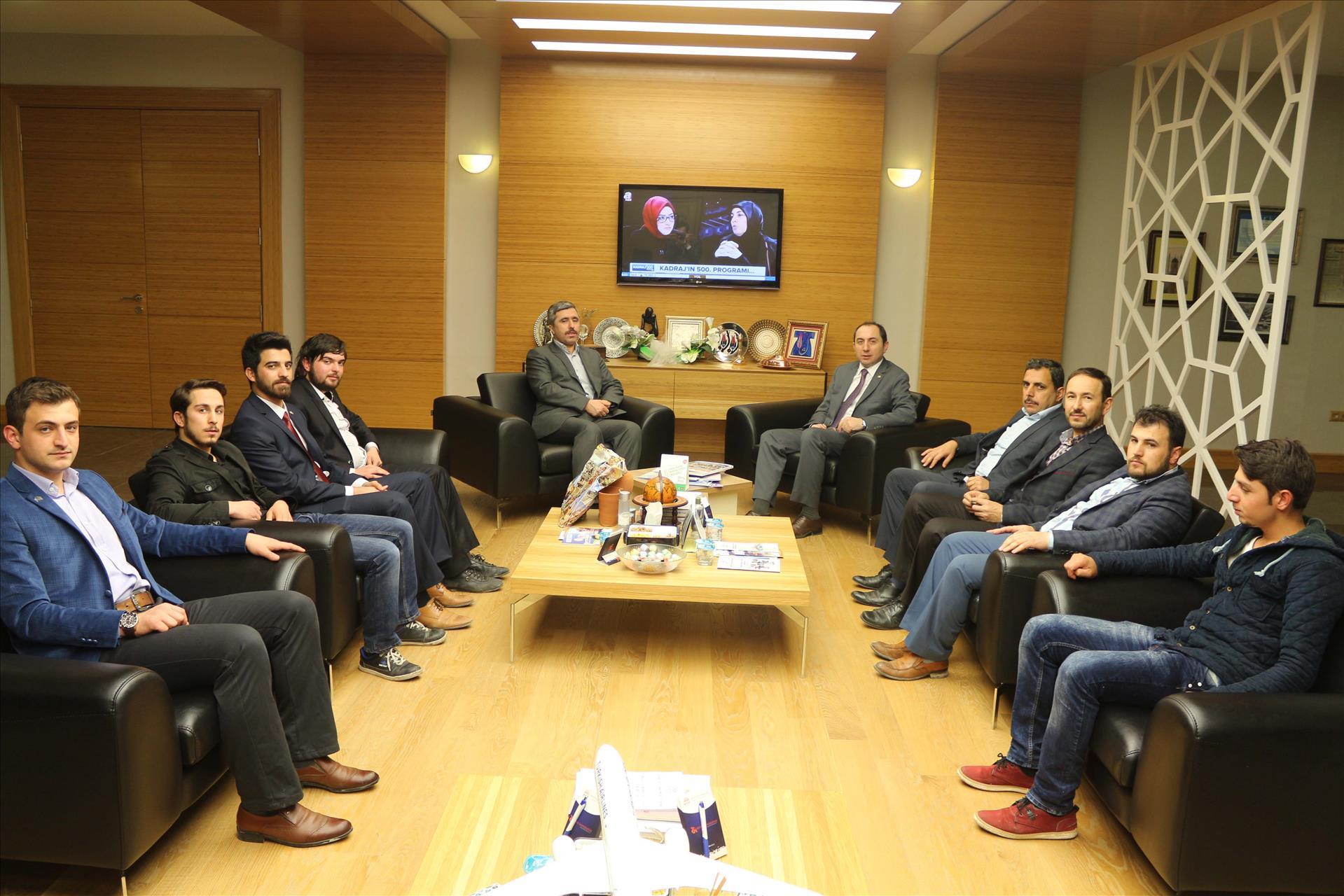 Anadolu Gençlik Derneği'nden Rektörümüze Ziyaret