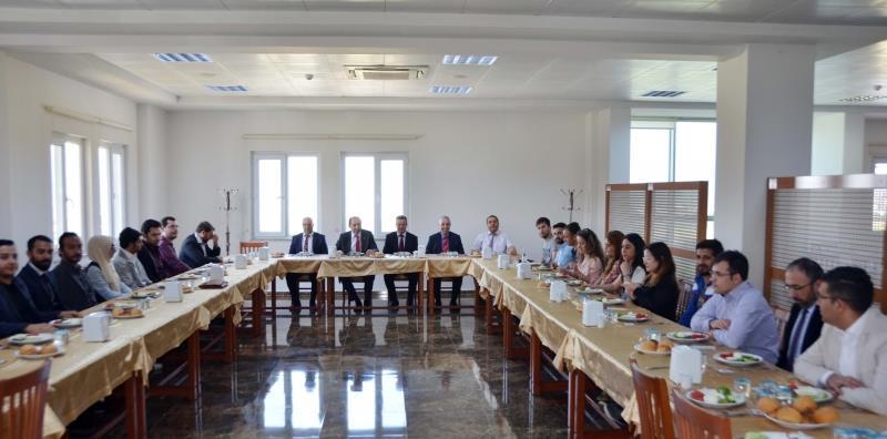 Rektörümüz 4. Uluslararası Türk Dünyası Ekonomi Forumu Düzenleme Kurulu İle Bir Araya Geldi