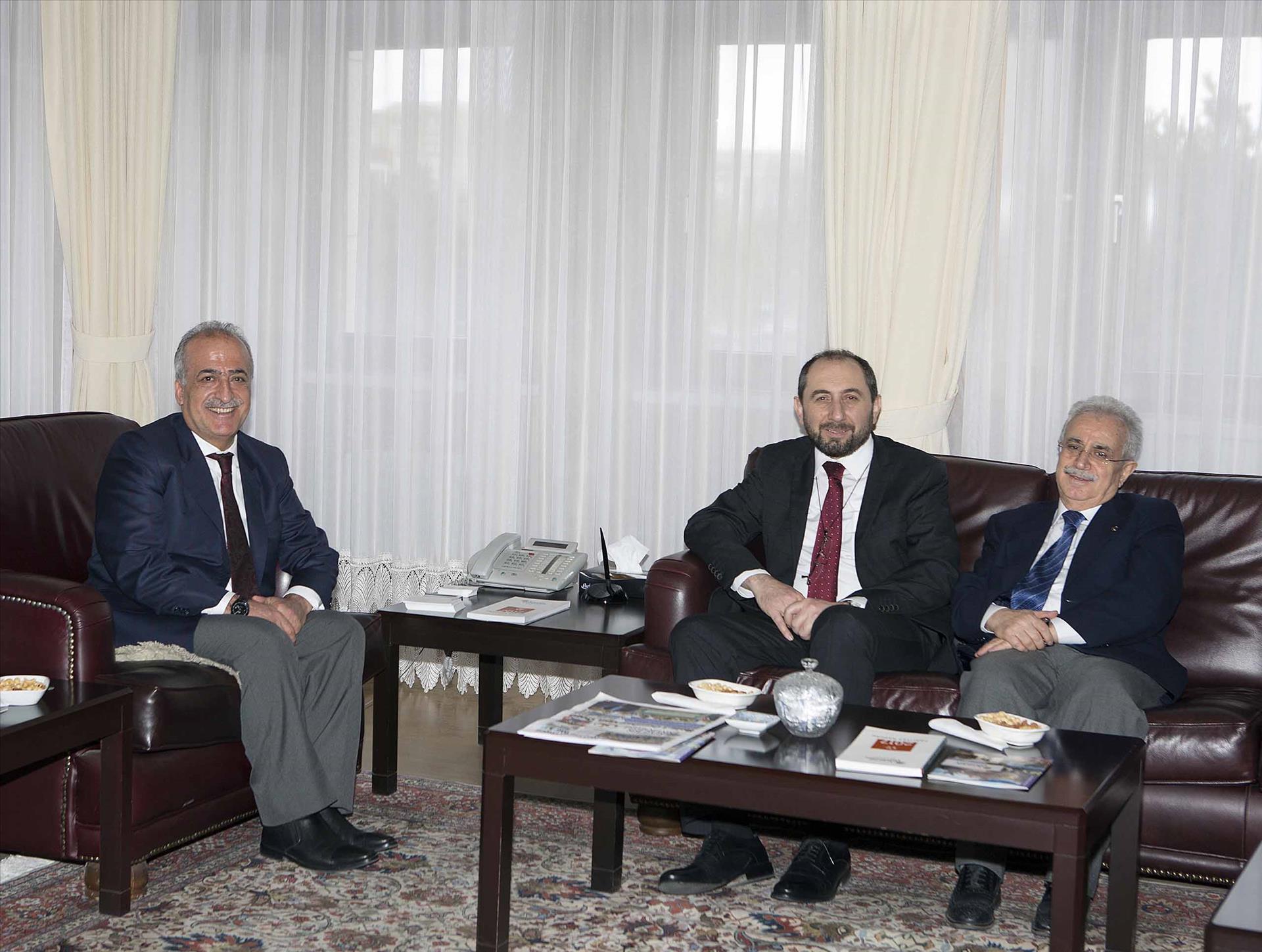 Rektörümüz Erzurum'da Bir Dizi Ziyarette Bulundu