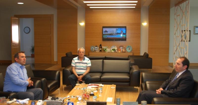 Boğazkale Belediye Başkanı Rektörümüzü Ziyaret Etti