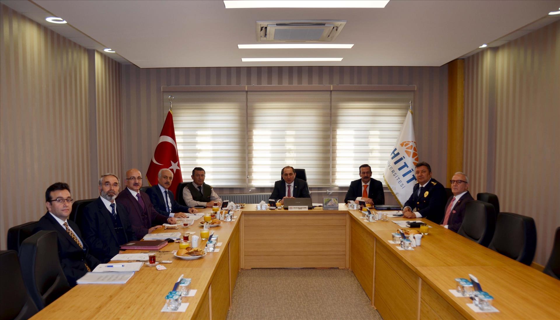 2016- YGS İl Sınav Koordinasyon Kurulu Toplantısı Yapıldı