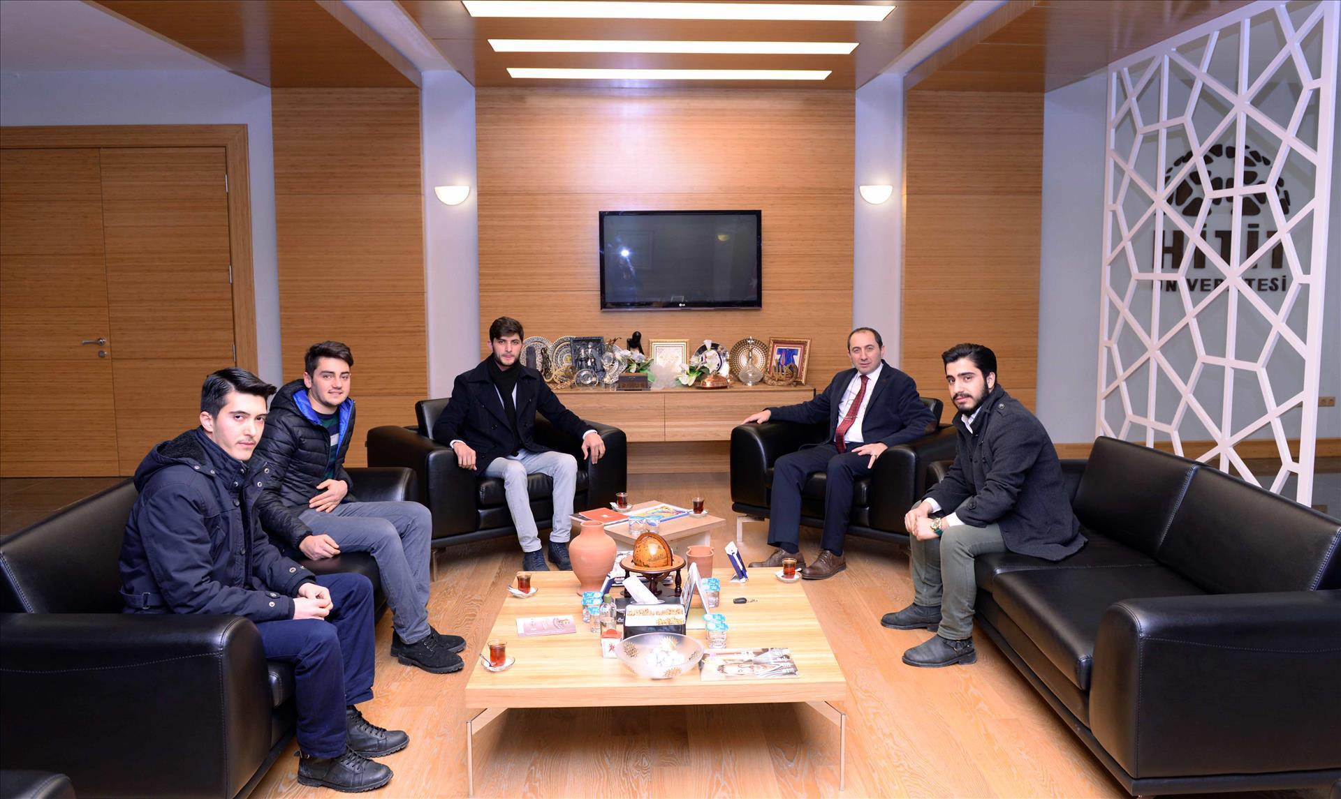 Milli Türk Talebe Birliğinden Rektörümüze Ziyaret