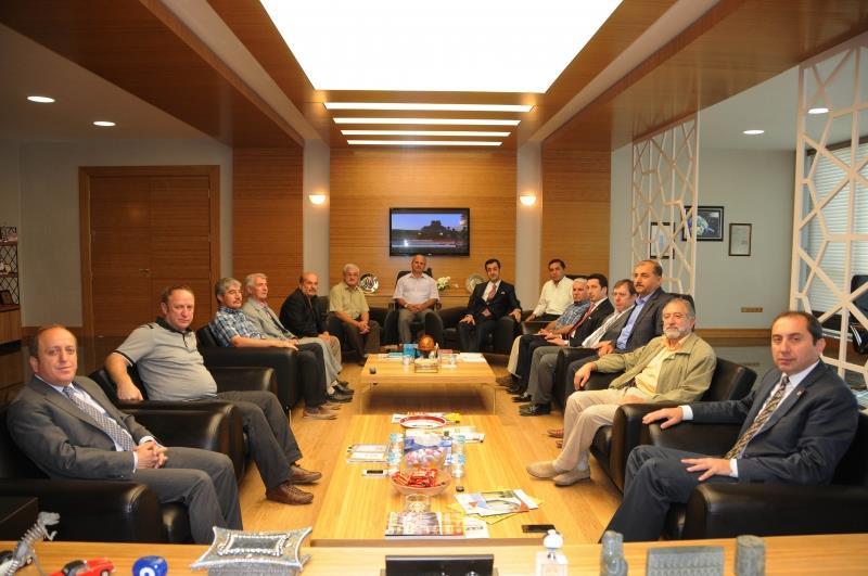 İlim Yayma Cemiyeti Üyeleri Rektörümüzü Ziyaret Etti