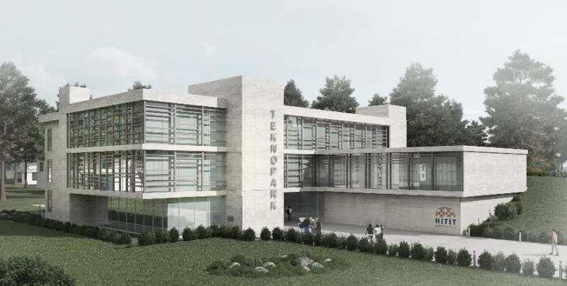 TEKNOKENT Binasının İnşaatı Hızla Devam Ediyor