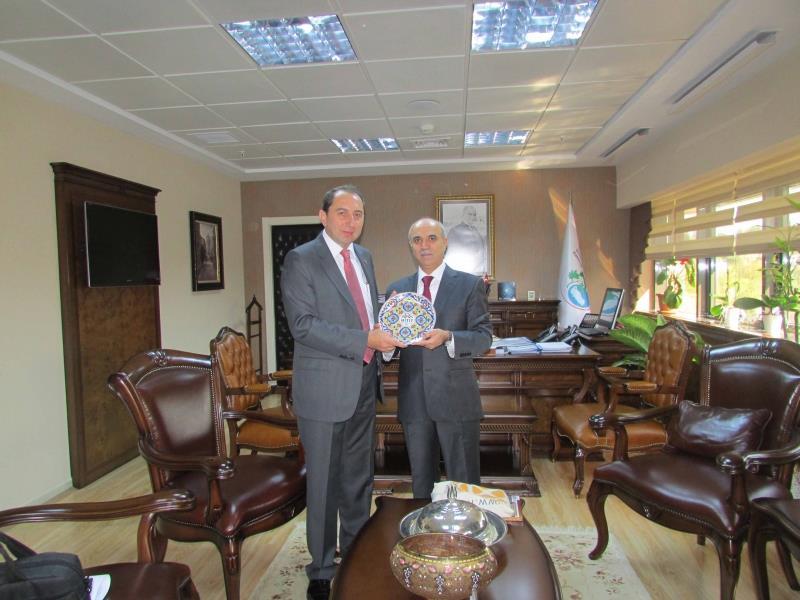 Rektörümüz, Orman ve Su İşleri Bakanlığı Müsteşarı Prof.Dr. Lütfü AKÇA'yı Ziyaret Etti