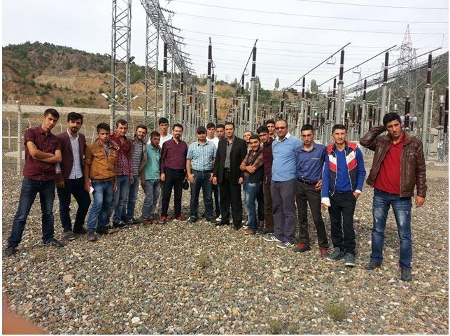 Osmancık Ömer Derindere MYO Öğrencilerine Teknik Gezi Düzenlendi